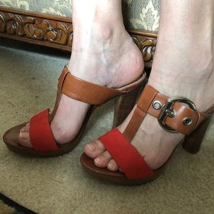 Gianni Bini Rare Woman's Leather and Suede shoes